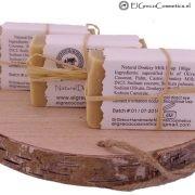 3 pack natuurlijke ezelinnenmelk zeep back