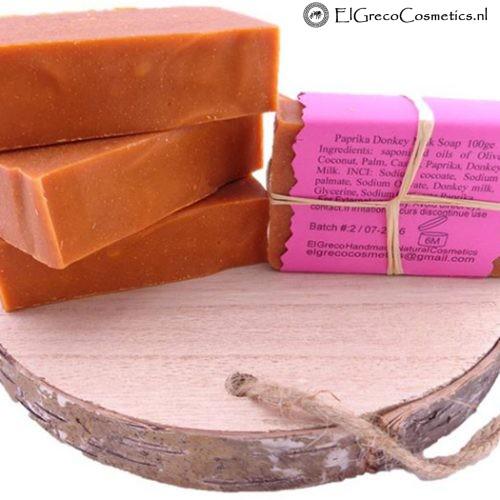 paprika ezelinnenmelk zeep back