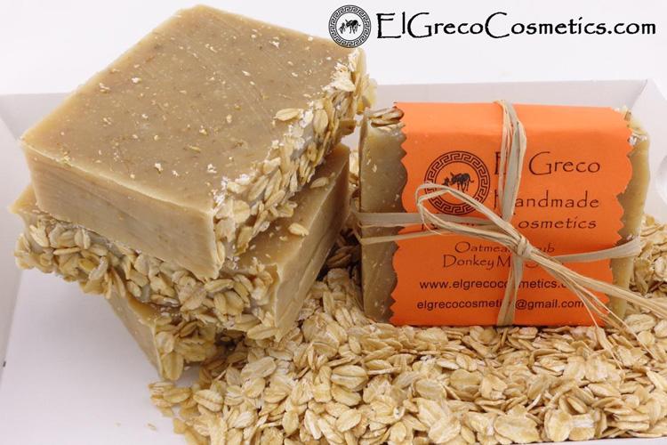 Σαπούνι με Βρώμη και Γάλα γαϊδούρας κατά της κυτταρίτιδας